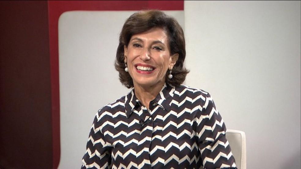 Maria Silvia Bastos Marques, ex-presidente do BNDES (Foto: reprodução GloboNews)
