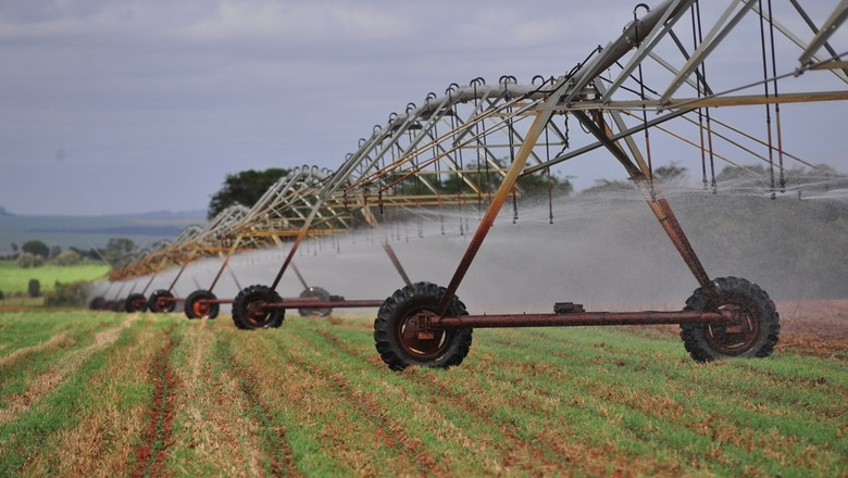 agricultura_algodao_irrigacao (Foto: Ernesto de Souza/Ed. Globo)