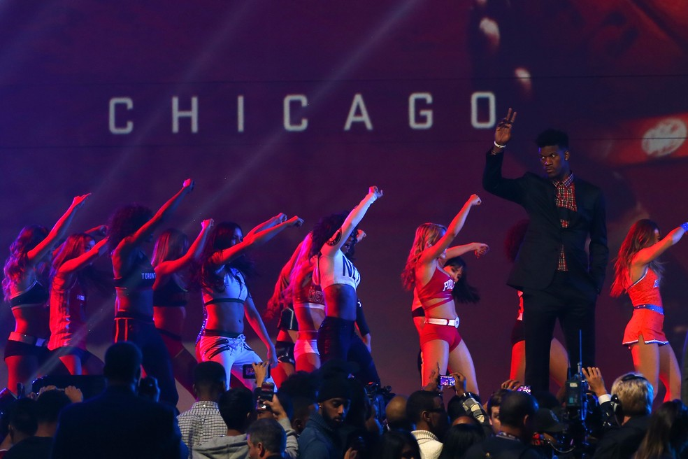 Jimmy Butler no All-Star Game 2016 — Foto: Elsa/Getty Images