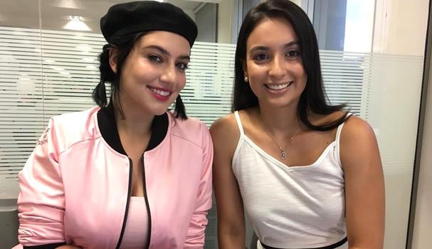 Clau e Flávia Bezerra (Foto: Instagram/Reprodução)