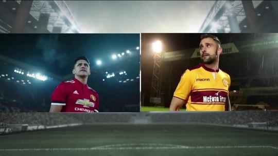 Time da Escócia imita vídeo de Alexis Sánchez no Manchester United