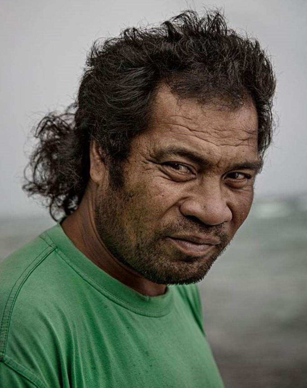 Ioane Teitiota pode ser o primeiro refugiado por motivo de mudança climática do mundo — Foto: Getty Images/BBC