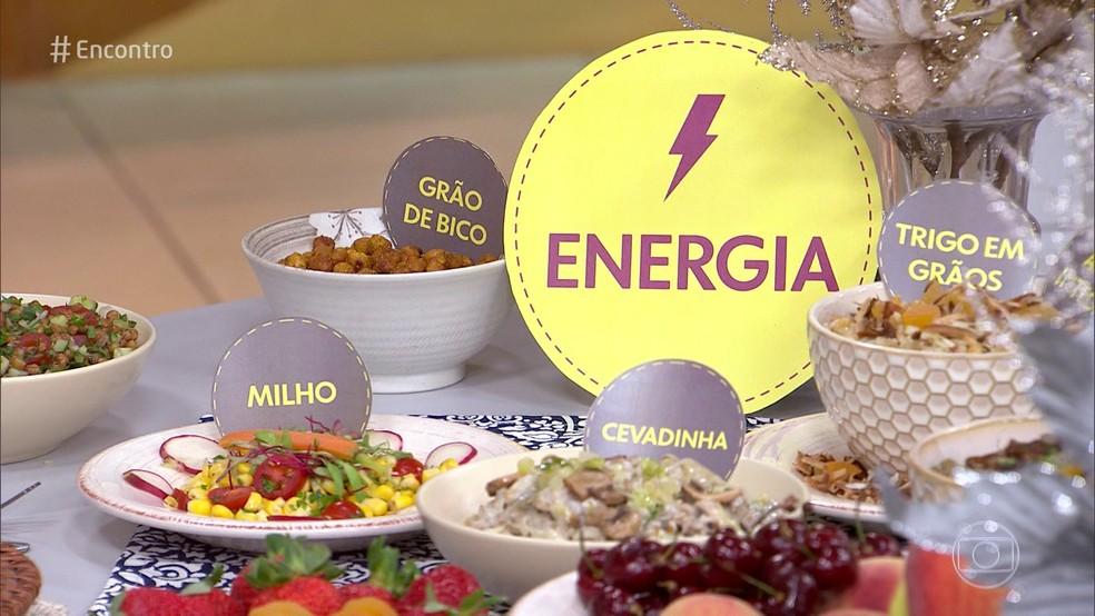 Carboidrato é importante fonte de energia para o corpo — Foto: Reprodução/ TV Globo