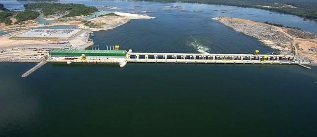 Usina Hidrelétrica Belo Monte fica localizada no rio Xingu, no Pará