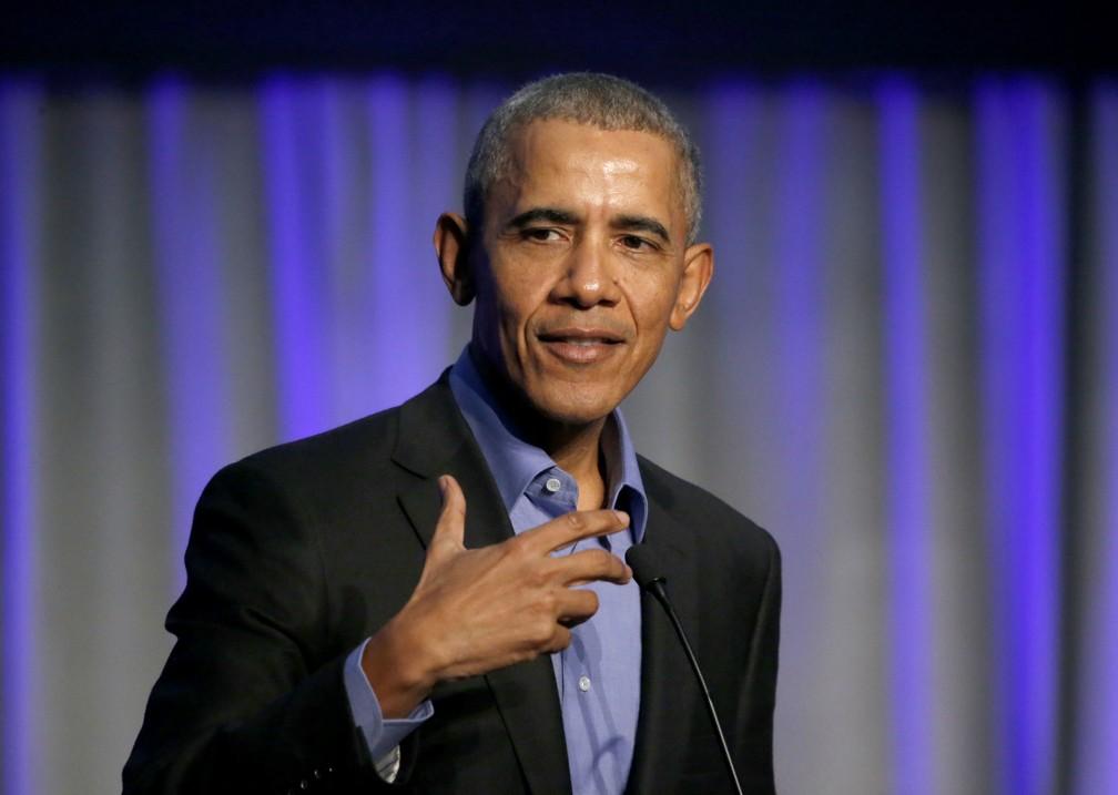 O ex-presidente Barack Obama — Foto: AP Photo/Charles Rex Arbogast