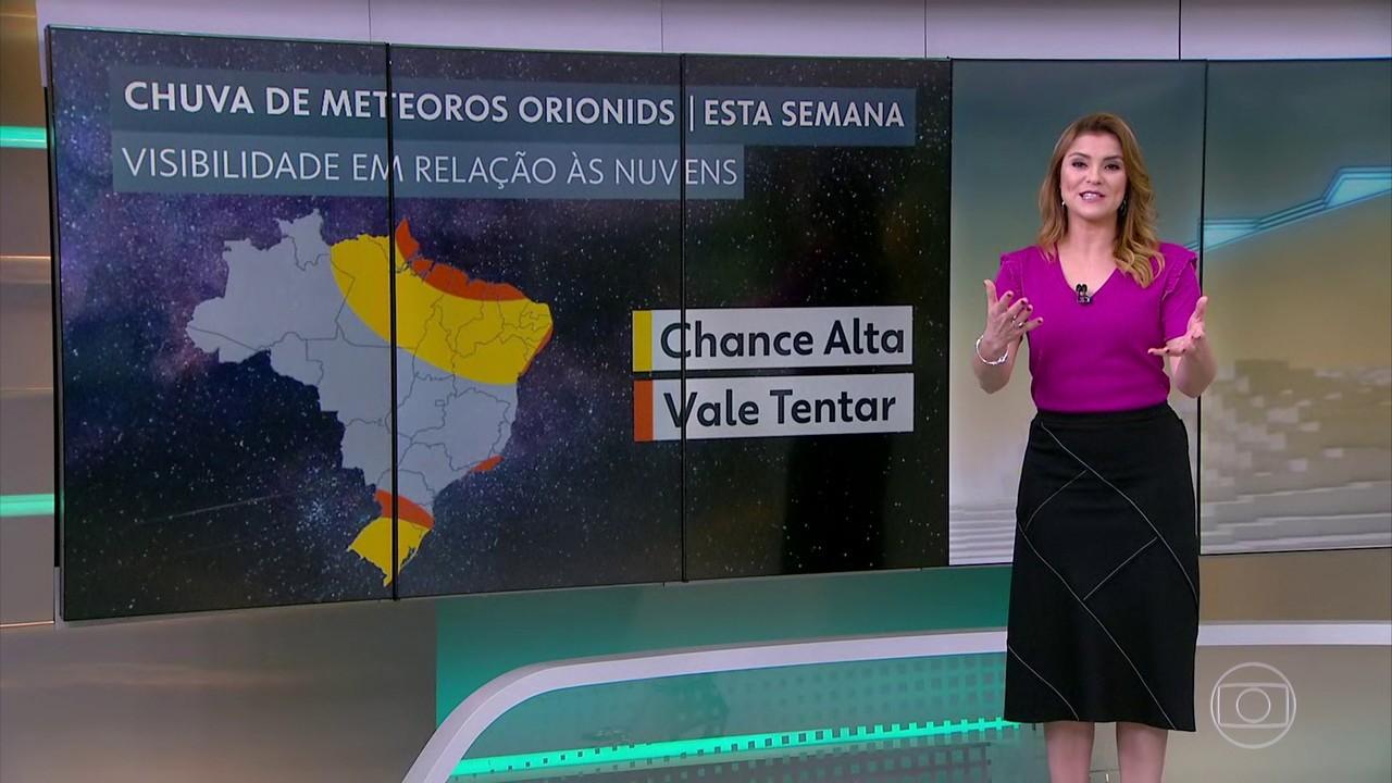 Brasileiros podem apreciar chuva de meteoros nas próximas madrugadas