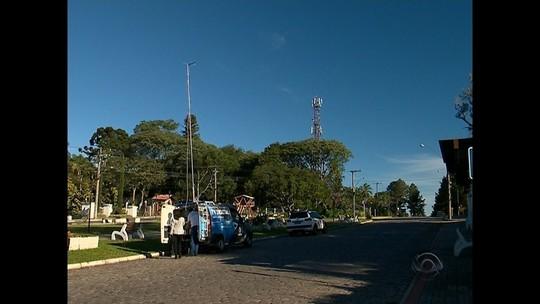 Equipe da RBS TV faz testes de sinal digital na Região Central