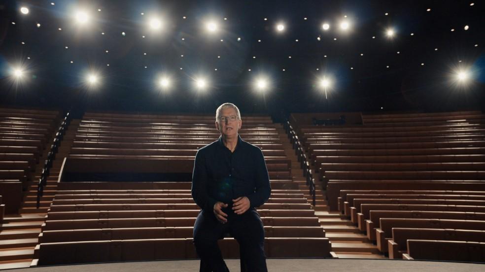 Tim Cook apresenta novidades da Apple durante WWDC 2020 — Foto: Reprodução/Apple