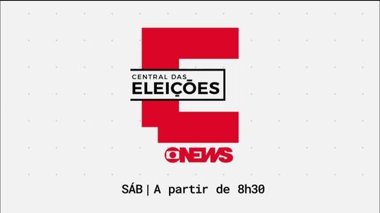 Central das Eleições: reapresentação das entrevistas com candidatos a vice-presidente