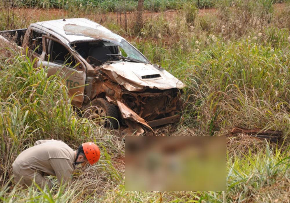 Engenheiro agrônomo morre em colisão de caminhonete com trem em MS