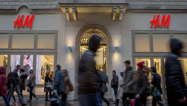 Loja da H&M (Hennes & Mauritz) em Istambul, Turquia (Foto: Chris McGrath/Getty Images)