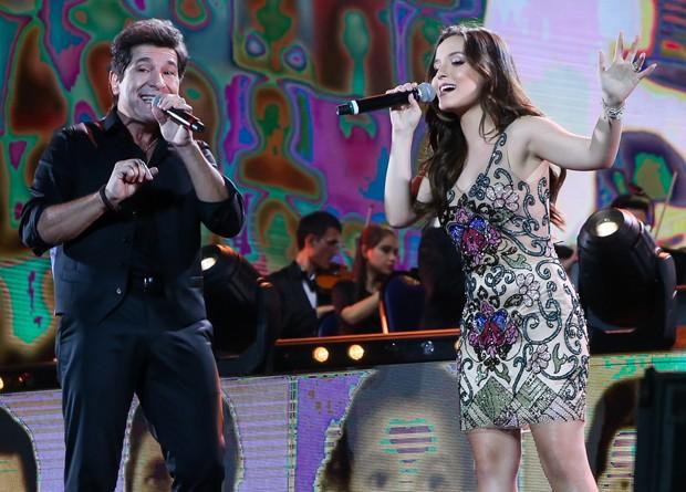 Daniel e Larissa Manoela (Foto: Manuela Scarpa/Brazil News)
