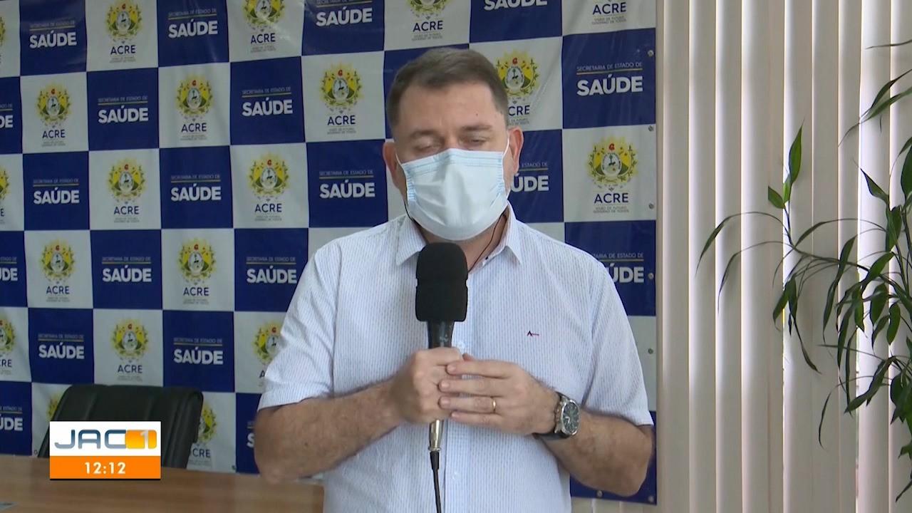 Secretário estadual de Saúde fala sobre possível relaxamento de medidas restritivas