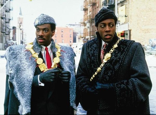 Eddie Murphy em cena de 'Um Príncipe em Nova York' (1988) (Foto: Reprodução)