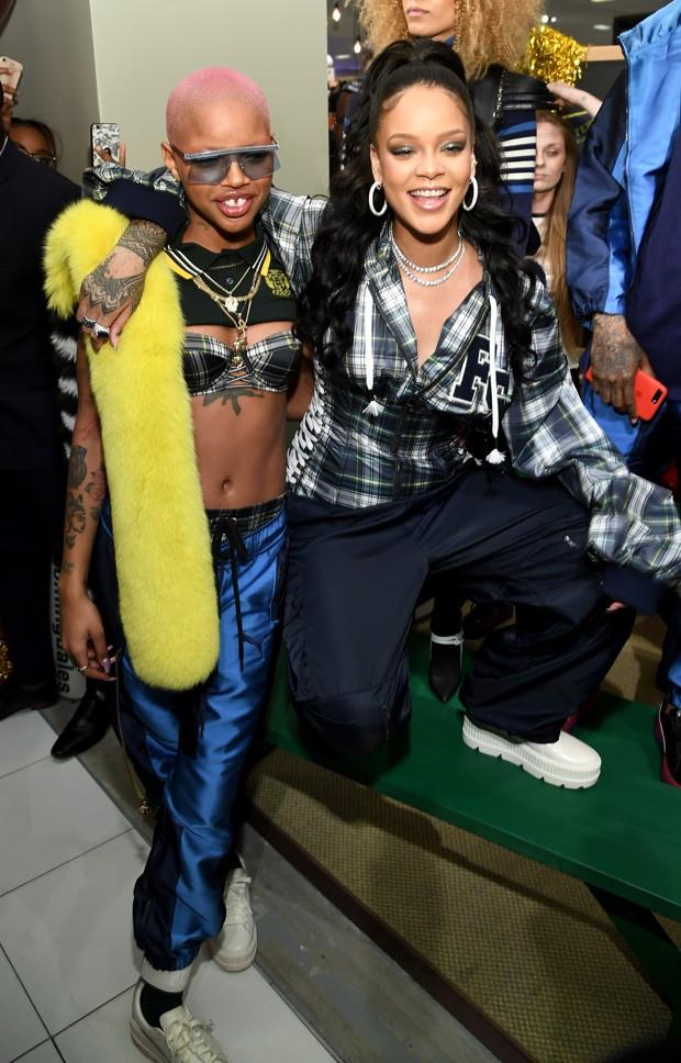 Slcik Woods é uma das musas de Rihanna (Foto: Getty Images)