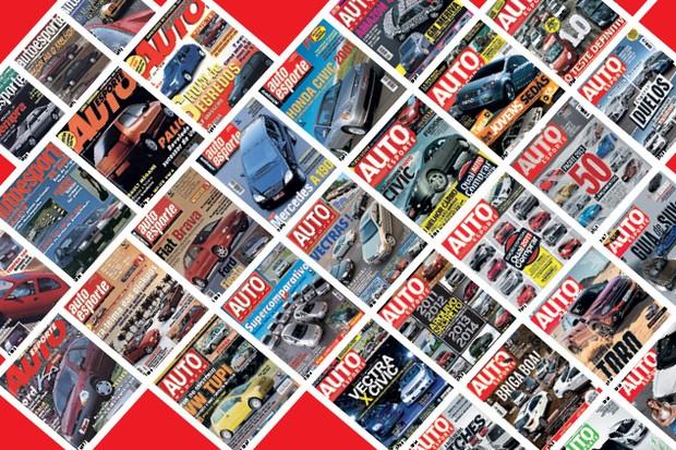 Capas - 55 anos de Autoesporte (Foto:  )
