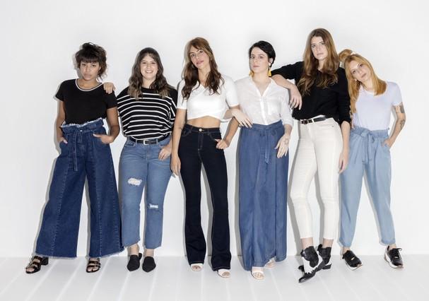 Nova coleção de jeans (Foto: Marcelo Krasilcic)