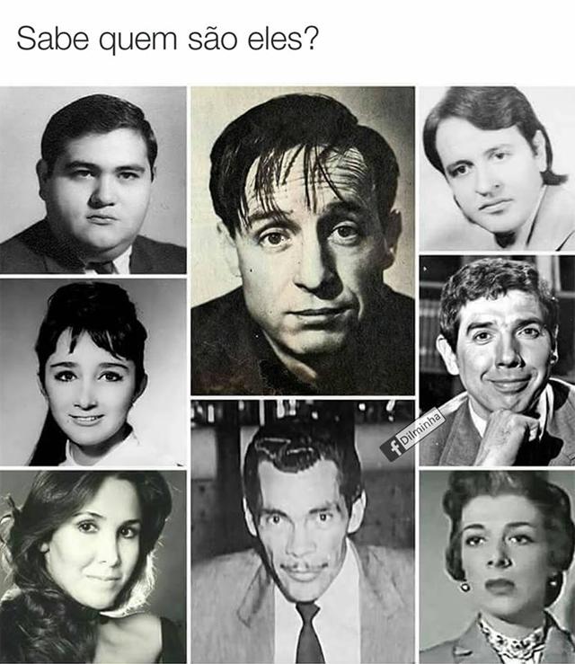 A montagem do elenco de Chaves e Chapolin que viralizou na internet (Foto: Reprodução/Facebook)