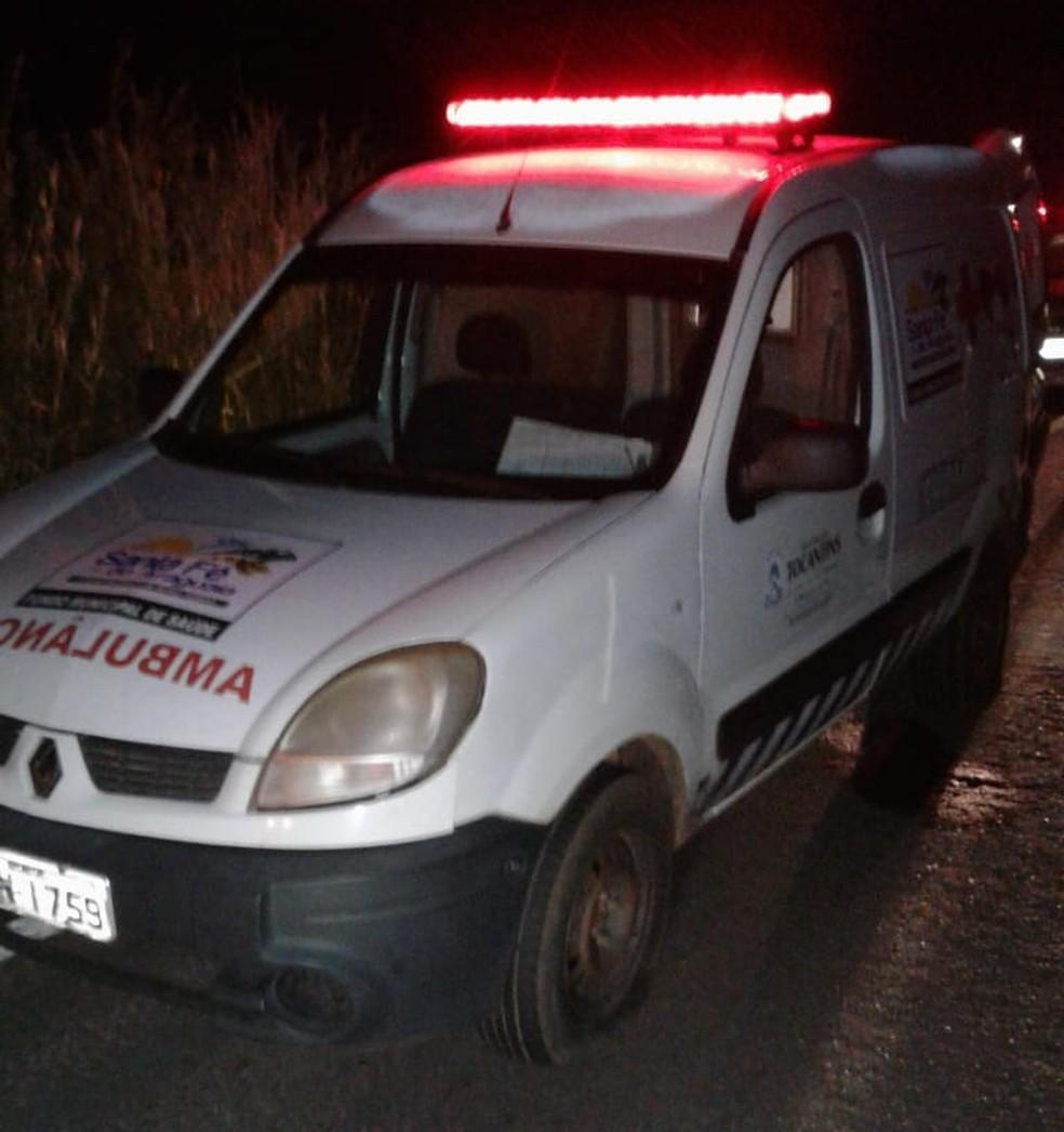 Jovem foi executado dentro da ambulância (Foto: Divulgação)