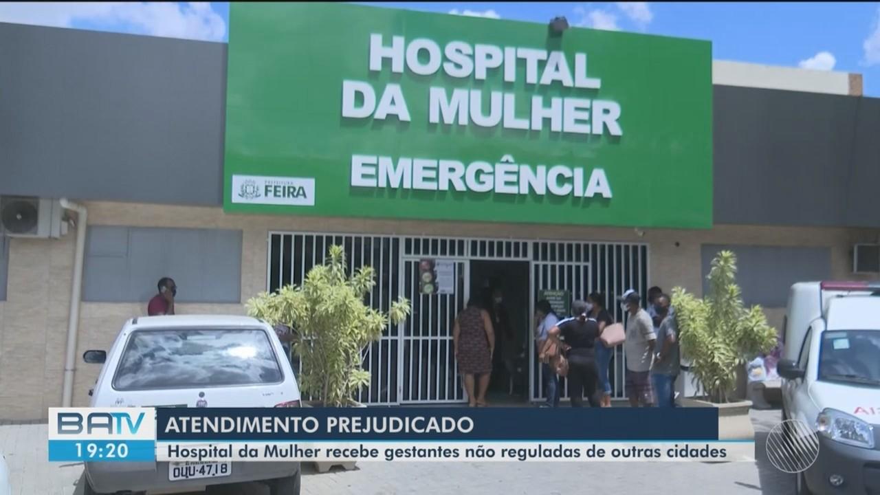 Hospital da Mulher, em Feira de Santana, sofre com superlotação de pacientes da região