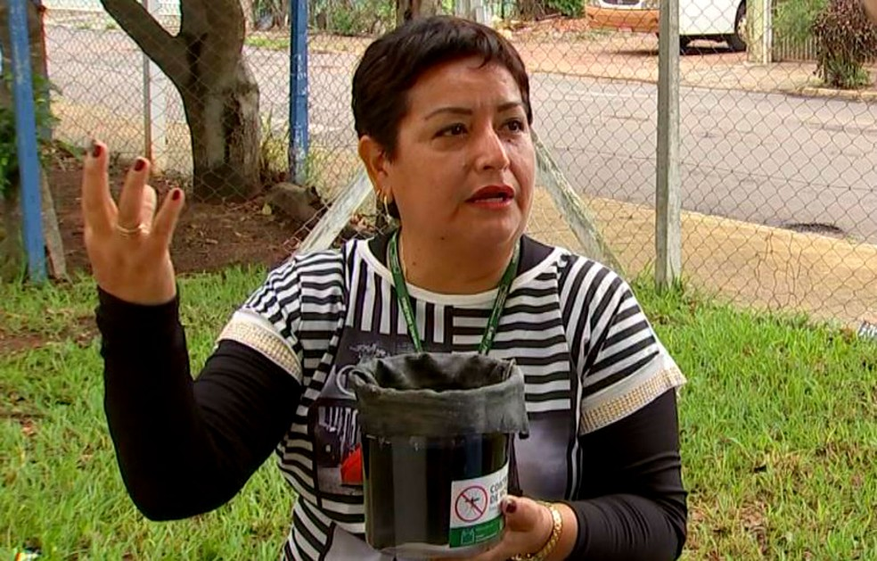 Bióloga peruana Elvira Zamora Perea, é uma das pesquisadoras que lidera o estudo (Foto: Reprodução/TV TEM)