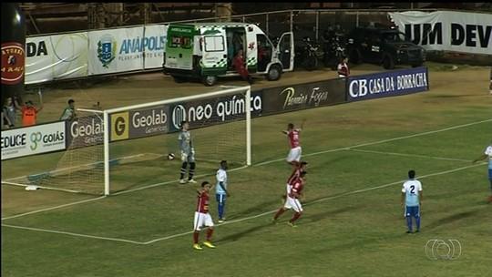 Grêmio Anápolis segura Anapolina e fica a um empate do título da Divisão de Acesso