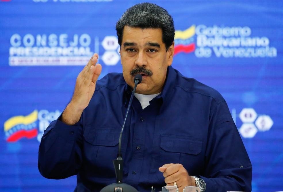 Nicolás Maduro, presidente da Venezuela — Foto: Venezuelan Presidency / AFP