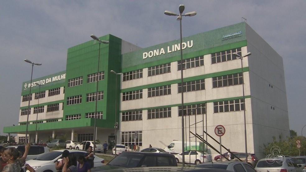 Instituto da Mulher Dona Lindu deve receber pacientes com Covid-19. — Foto: Reprodução/Rede Amazônica