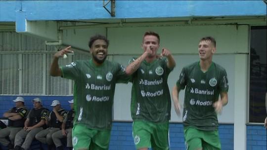 Os gols de Cruzeiro 2 x 3 Juventude pela Copa RS de futebol sub-20