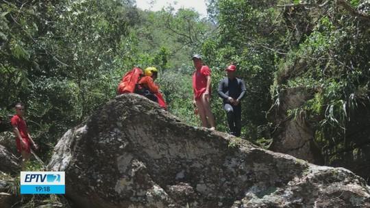 Quinta vítima de tromba d'água em rapel é encontrada; jovens são enterrados em MG