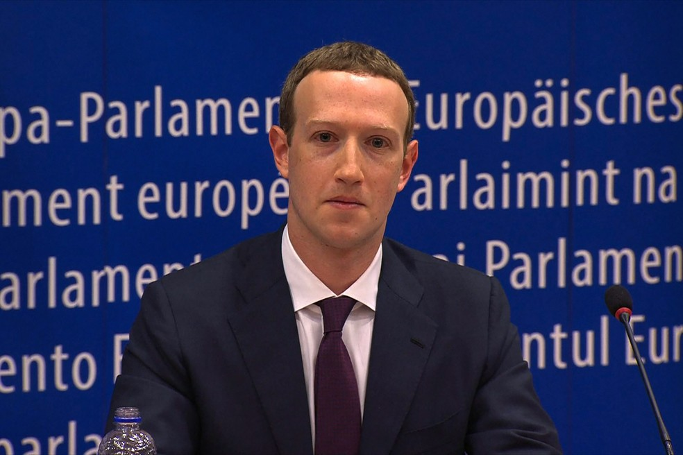 Mark Zuckerberg, presidente-executivo do Facebook. — Foto: France Presse