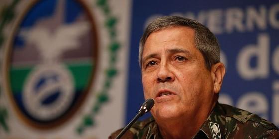O interventor federal na Segurança Pública do Rio de Janeiro, o general Braga Netto (Foto: Tânia Rêgo/Agência Brasil)