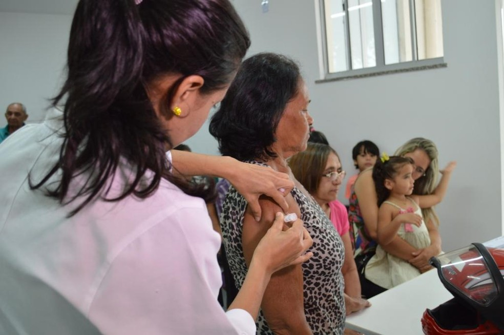 Campanha de vacinação em Teresina vai atender todos os públicos, mas interior não atenderá crianças por enquanto (Foto: Divulgação/FMS)