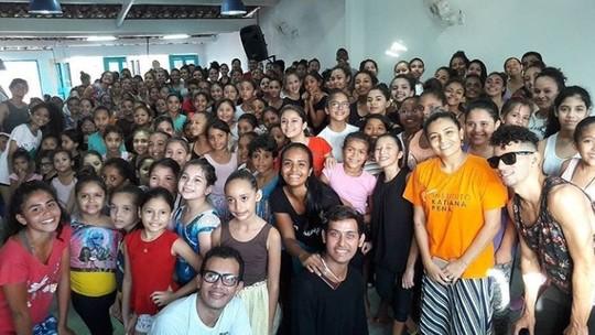 'Caldeirão' reforma instituto social na periferia de Fortaleza e projeto ganha mais 400 alunos