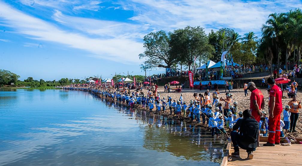 Festival de Pesca é realizado anualmente em Cáceres — Foto: Francisco Alves/ GCom-MT