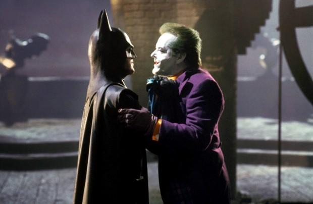 Batman e Coringa pelo olhar de Tim Burton (Foto: Reprodução)