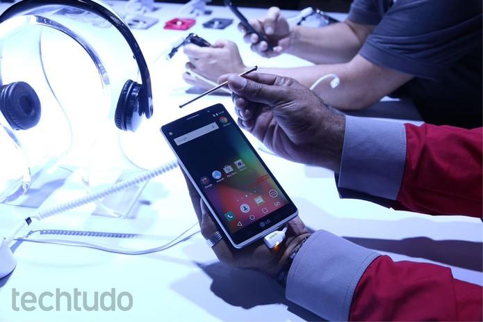 LG G4 Stylus (Foto: Nicolly Vimercate/TechTudo)