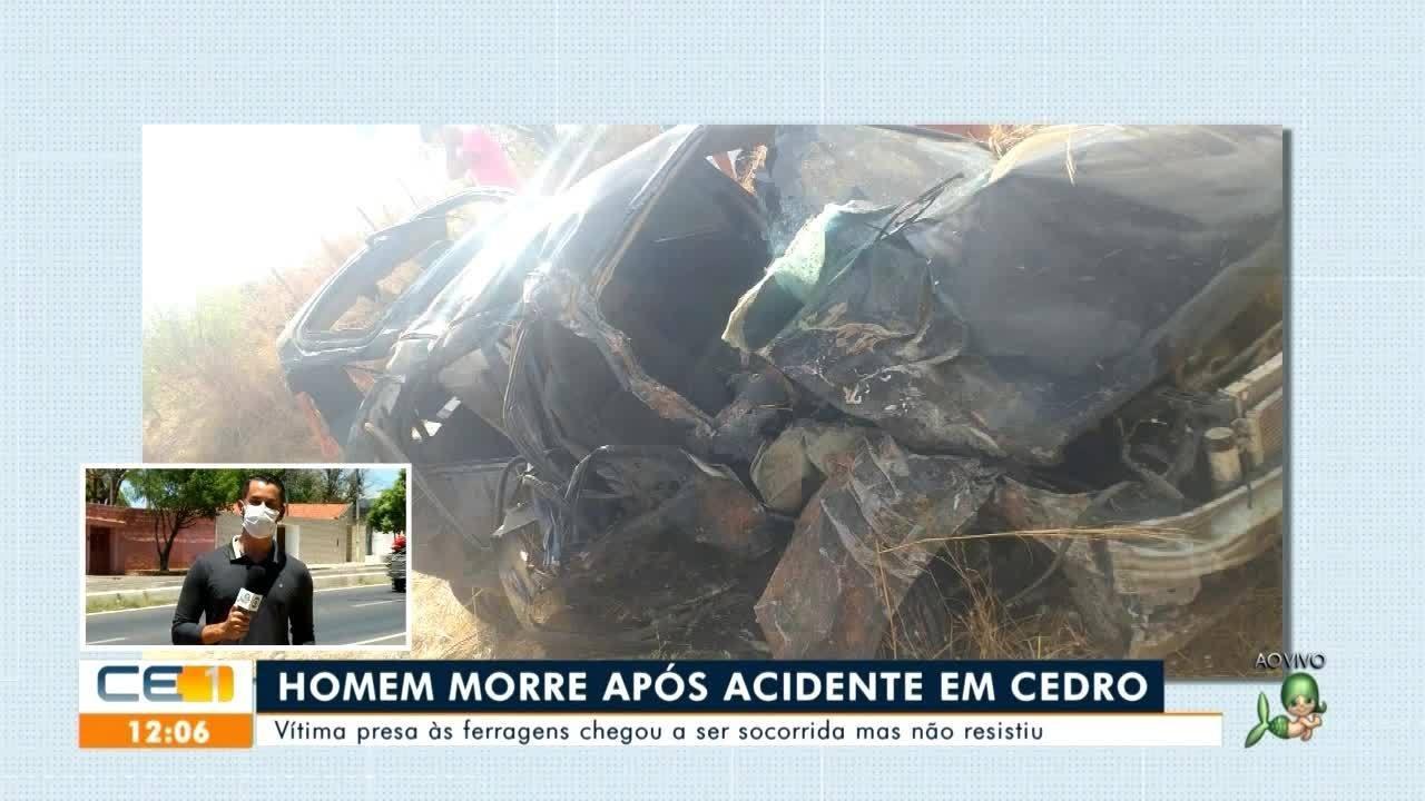 Acidentes com morte em Salitre e Cedro