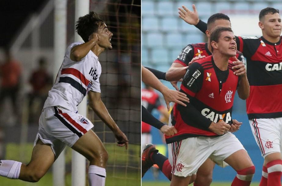São Paulo x Flamengo: quem é quem na decisão da Copinha