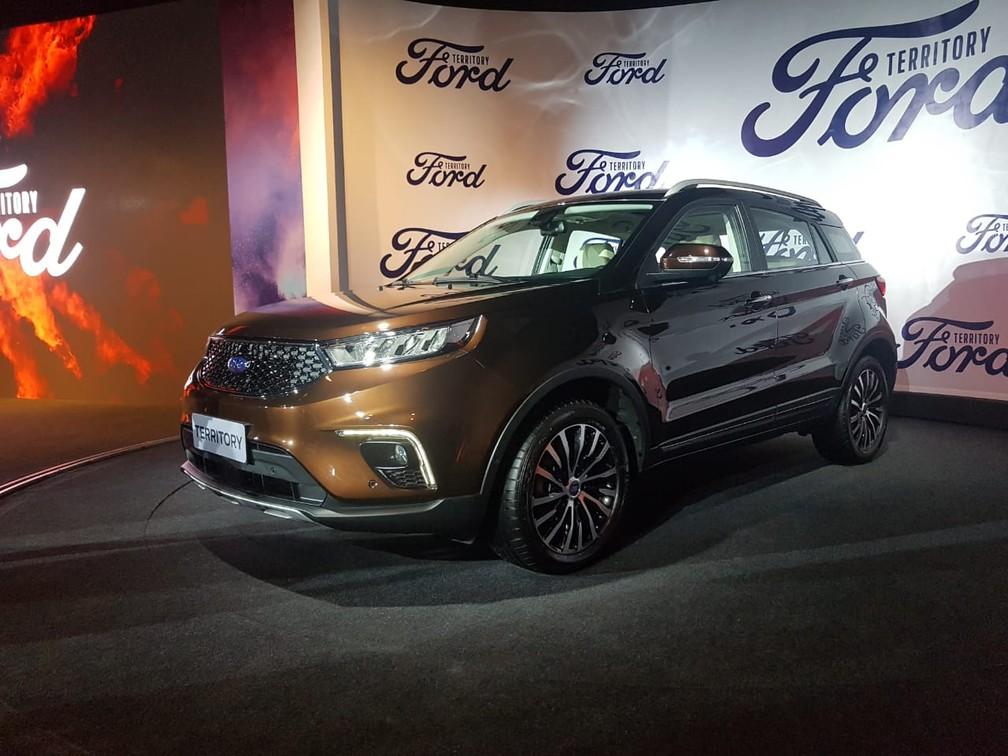 Ford Territory E Confirmado Para O Brasil E Chega Em 2020