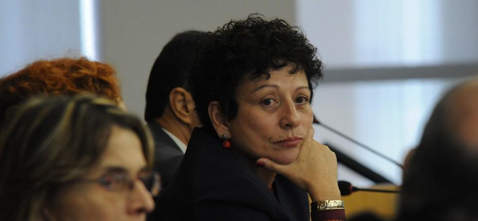 Nilcea Freire, em foto de maio de 2010, quando era secretária especial de políticas para mulheres — Foto: Elza Fiúza / Arquivo Agência Brasil