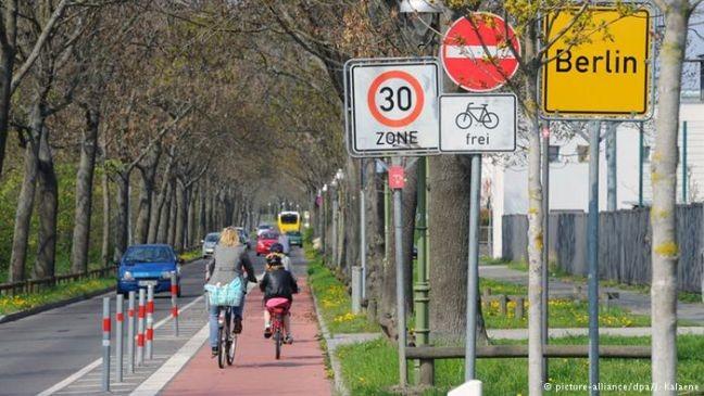 Ciclistas alemãs (Foto: Reprodução / O Sul)