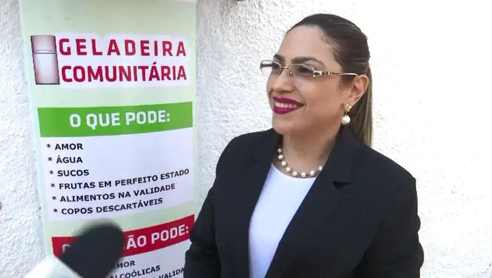 Funcionária do cartório diz que ideia surgiu para ajudar os moradores de rua e que devem pedir ajuda a empresários com doações (Foto: Reprodução/Rede Amazônica Acre)