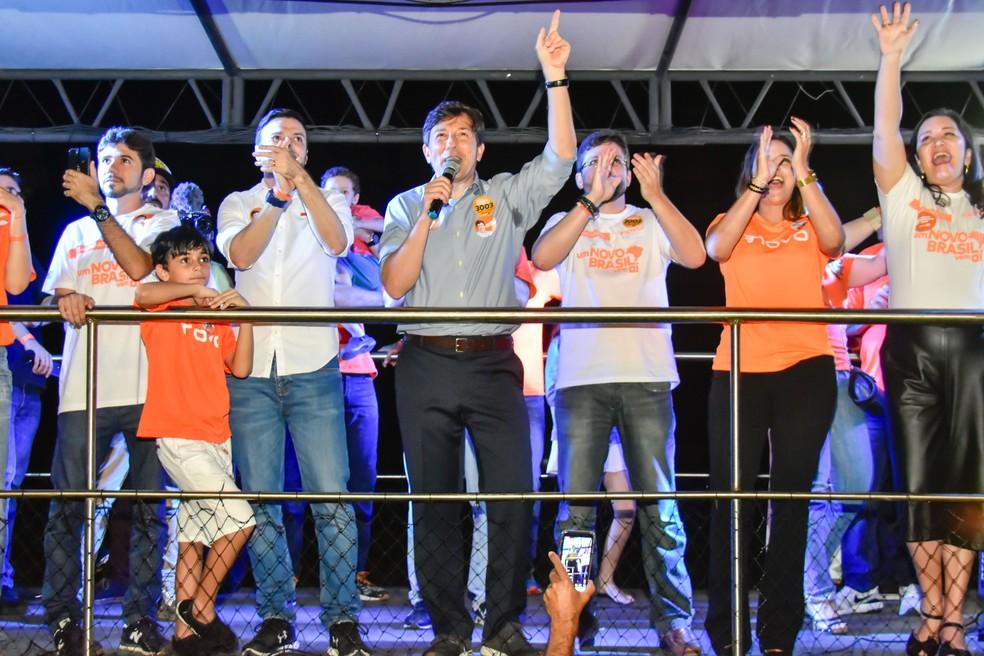 João Amoêdo, candidato a presidente — Foto: VITORINO JUNIOR/PHOTOPRESS/ESTADÃO CONTEÚDO
