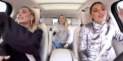 Miley Cyrus, Hailey Baldwin e Kendall Jenner (Foto: Reprodução)