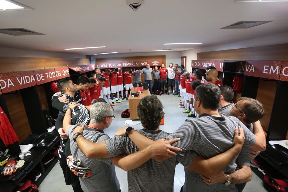 Odair elogia o comprometimento do grupo do Inter (Foto: Ricardo Duarte / Inter, DVG)