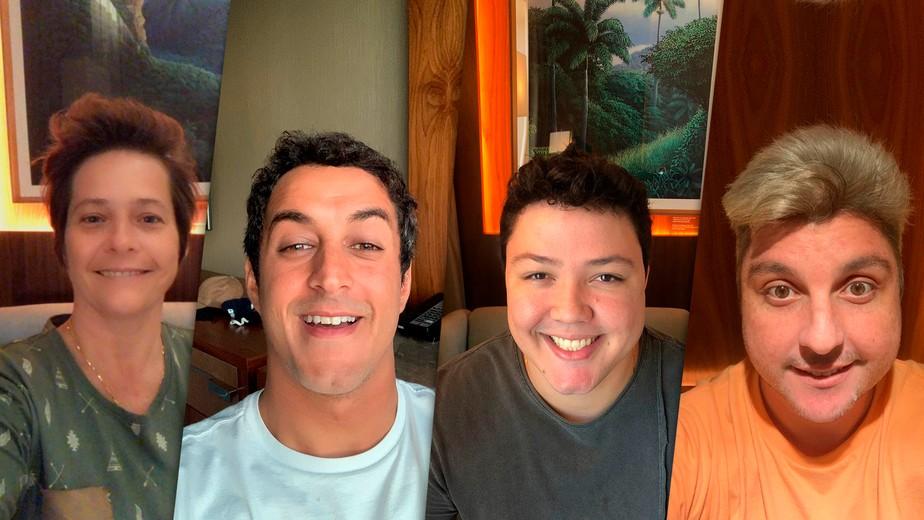 Isolados em hotel no Rio, finalistas falam em live sobre expectativa para decisão do 'Mestre do Sabor'