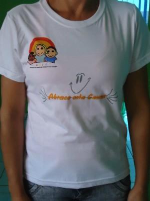 Doadores poderão receber camisas da instituição. (Foto: Divulgação)