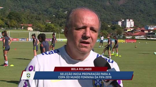 Direto de Teresópolis, Vadão fala sobre a preparação da seleção feminina para a Copa do Mundo