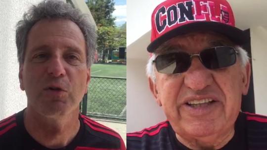"""Eleição no Flamengo: situação aposta em """"obras contra palavras""""; oposição segura euforia"""